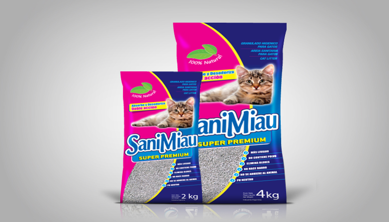Packaging Sanimiau